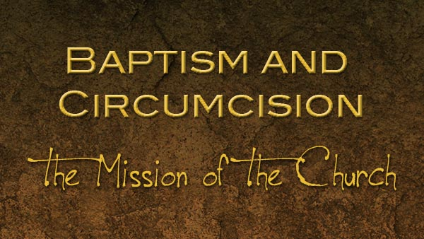 Baptism and Circumcision