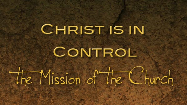 Christ is in Control