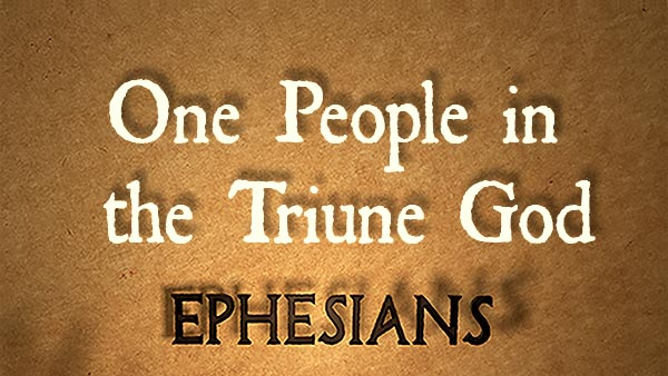 One People in the Triune God