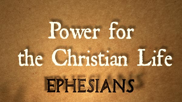 Power for the Christian Life