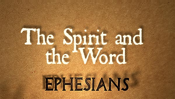 The Spirit and the Word