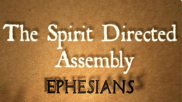 The Spirit Directed Assembly