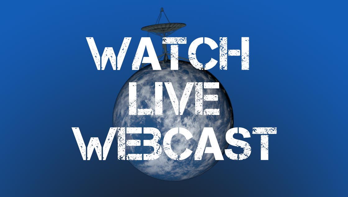 Watch Live Webcast